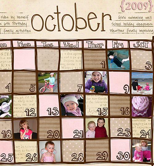 Сделать календарь своими руками с датами рождения 48